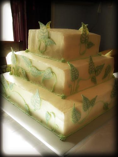 Fran's Wedding Cake