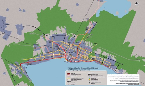 transportation plan for Greater Toronto & Hamilton Area (by: Metrolinx)