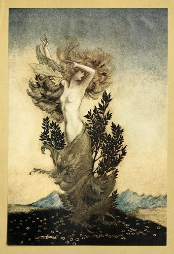 004-Comus de John Milton-ilustrada por Rackham 1921