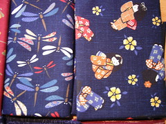 Fabrics from Craft Fair