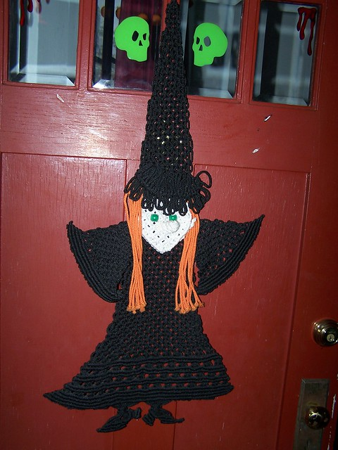 Macrame witch my cousin made