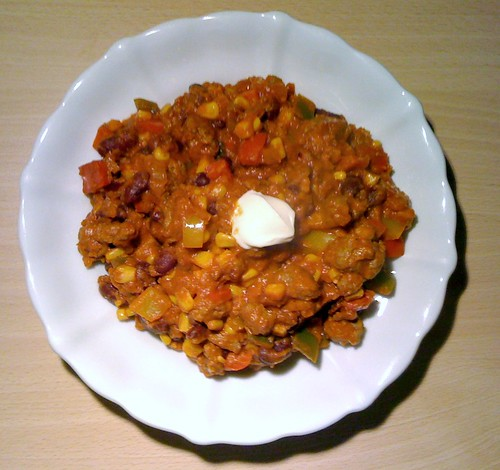 Chili con Carne - selbst gemacht / self-made Chili con Carne