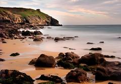 Rinsey (midlander1231) Tags: ocean longexposure sea england sky seascape beach nature clouds landscape rocks cornwall cliffs hendra westcornwall alemdagqualityonlyclub