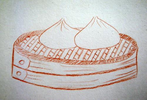 Baozi Drawing