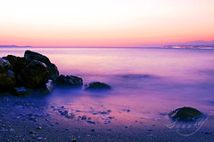 In my dreams there'll always be a place for you and me~ (Pink Pixel Photography (f.k.a. Sunny)) Tags: longexposure sea sunrise missing purple kreta explore crete frontpage sonnenaufgang langzeitbelichtung bestvacationever sigma1770mm graufilter canoneos400d wwwpinkpixelat pinkpixelphotography youhoney