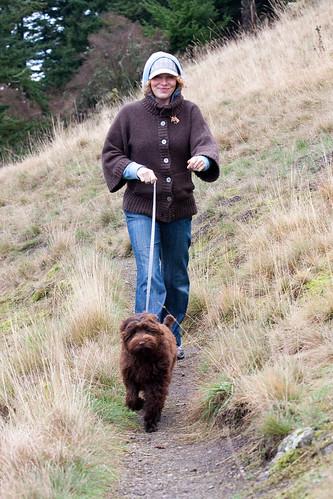 Fay & Ewok on the trail