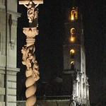 La Habana: Plaza de San Francisco, de noche