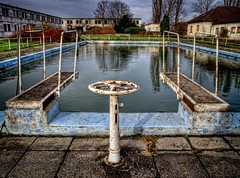 The Pool! (Batram) Tags: school urban pool swimming lost place infiltration exploration asylum hdr engineers urbex batram asyl asylantenheim technikerschule fliegerschule