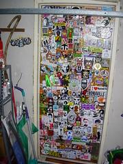studio door (andres musta) Tags: door studio stickerart stickers andres musta klep 455er klepattacks klepattackscom