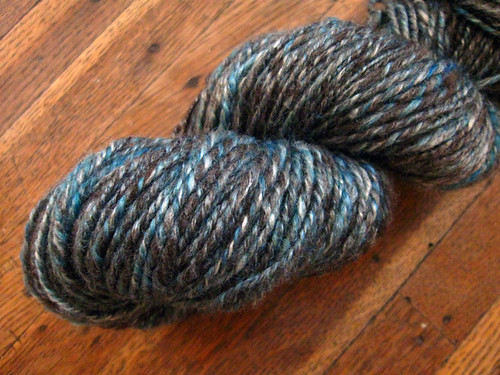 2ply light worsted handspun