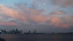 San Diego Skyline and Harbor at Dusk (mbell1975) Tags: ocean california ca bridge usa san pacific diego cal coronado ilobsterit