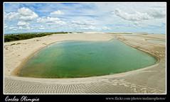 Lagoa em panormica (Carlos Olimpio - Malino) Tags: verde gua d50 jericoacoara areia cu cear lagoa turismo 1870mm passeio dunas ce panormica nvens nkon