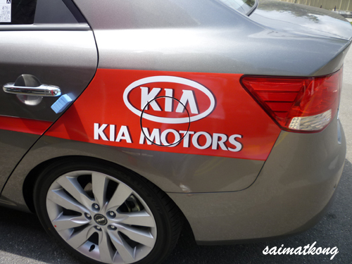 Kia Forte Test Drive Unit