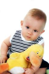 Davi (Fabiana Velôso) Tags: pato criança menino pequeno nenem pelúcia bichinho patinho fabianavelôso