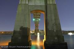 Under The Bridge (Cape Night Photography (aka Magellanous)) Tags: nightphotography canon canal lowlight capecod magellanous capenightphotography timothylittle