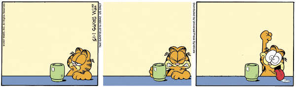 Garfield Minus Arbuckle, January 15, 2007