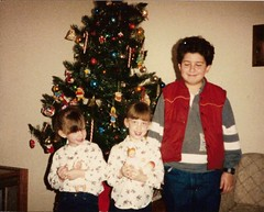 kids at christmas - 1991