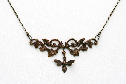 Honeybee Victorian Necklace