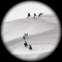 Stone Cold (The Ranger of Awesomeness) Tags: snow minnesota lego wind blah skis brickarms modernwarfare