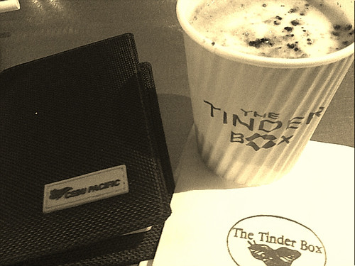cofee @ the tinder box
