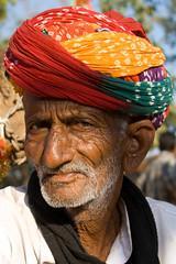 (anupama kinagi) Tags: life portrait india man colors face colorful asia emotion expression personality human indians turban rajasthan udaipur desertfestival anupamakinagi
