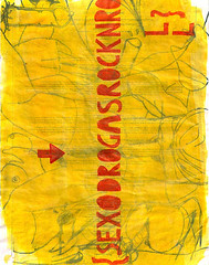 filmmaker (descalça) Tags: rock sex illustration painting n list drugs roll wish