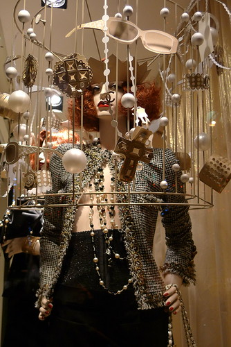Vitrines Chanel - Paris décembre 2009