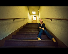 Brooke Shaden (isayx3) Tags: light portrait stairs nikon natural sigma 365 nikkor studios f28 d3 paramount 14mm plainjoe brookeshaden isayx3