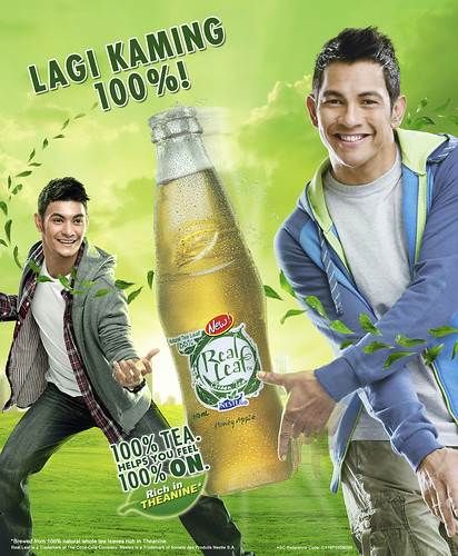 Real Leaf Print Ad - Gary and Gab