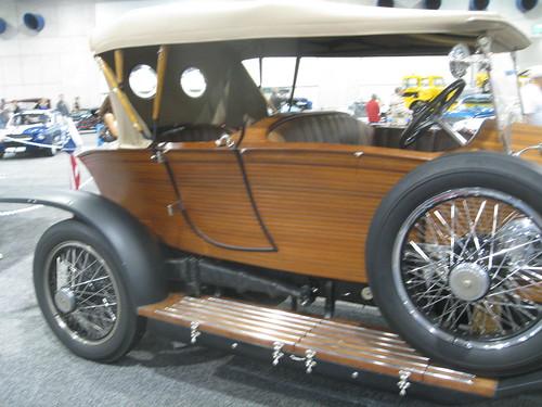 1922 Rolls Royce. Ford Taxi In Purple · Rolls