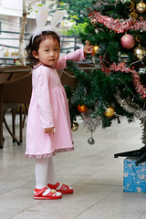 Standing by Christmas tree (nguyenminhtragiang) Tags: newyeareve beoi