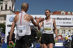 Zajímavosti ve výsledcích pražského maratonu