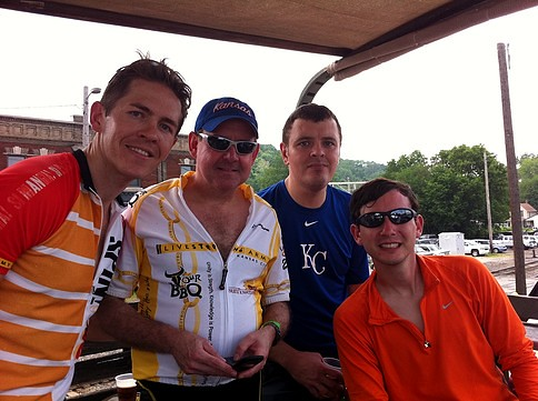 Our group at Knuckleheads after Tour de Brew