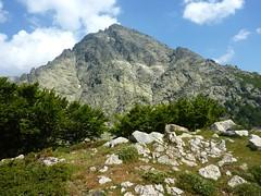 Arrivée à Punta Alla Corbajola (1457m) : le Monte d'Oru (2389m)