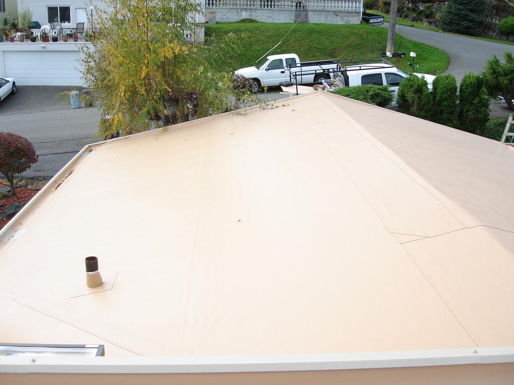 Fully Finished 80 Ml IB Single Ply Roofing (Rainier View) Tags Carlisle Ib