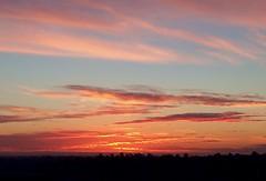 Sunset over Grossmont (taterpringalls) Tags: clouds pinksky sandiegosunset sandiego sunset