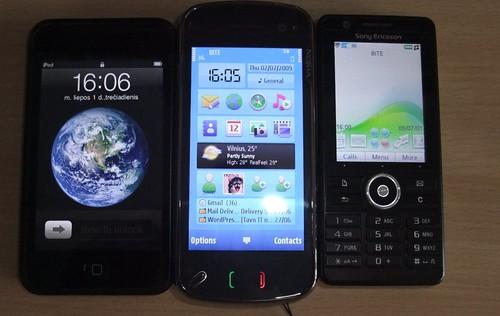 Nokia N97 firmware 2.0: nušvitimas