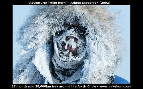 free 1680x1050 wallpaper Adventurer Mike Horn - Arktos Expedition 2002-2004