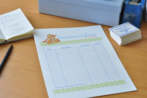 Custom made stationery!