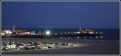 Santa Monica Pier (born19june) Tags: blue night pier monica friday