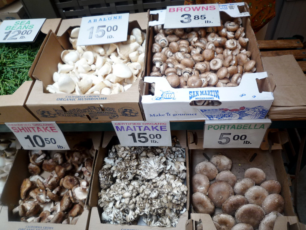 Mushrooms in The Ferry Building