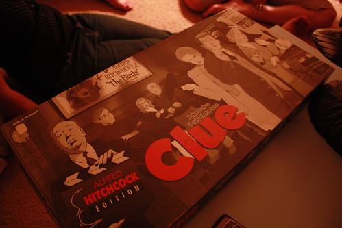 Hitchcock Clue