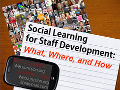 Social Learning for Staff Development