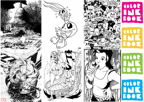 Color Ink Book Exclusives for San Diego Comic Con 2009