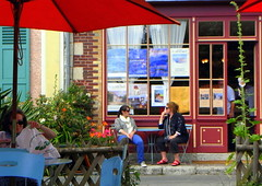 Monet's Café in Giverny