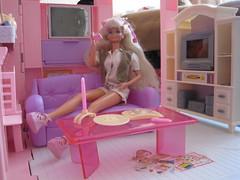 Barbie house 004 (IrenaSasha) Tags: house toy doll barbie mattel diorama