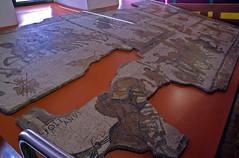 Mosaic del circ, Museu d'Història de la Ciutat, Girona (Sebastià Giralt) Tags: museum race museu circo roman circus mosaic mosaico girona romano museo quadriga gerona carrera circ cursa romà auriga cuadriga museudhistòriadelaciutat