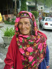Faces of Pakistan Karimabad, pretty in pink