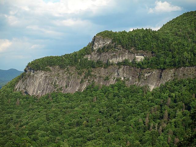 Whiteside Mountain, Highlands, North Carolina, USA