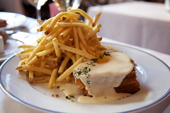 Croque Madame with Pommes Frites (RonLegend) Tags: vegas madame food macro breakfast lasvegas frites pommes fries croque bouchon canonef24105mmf4lisusm canoneos5dmarkii